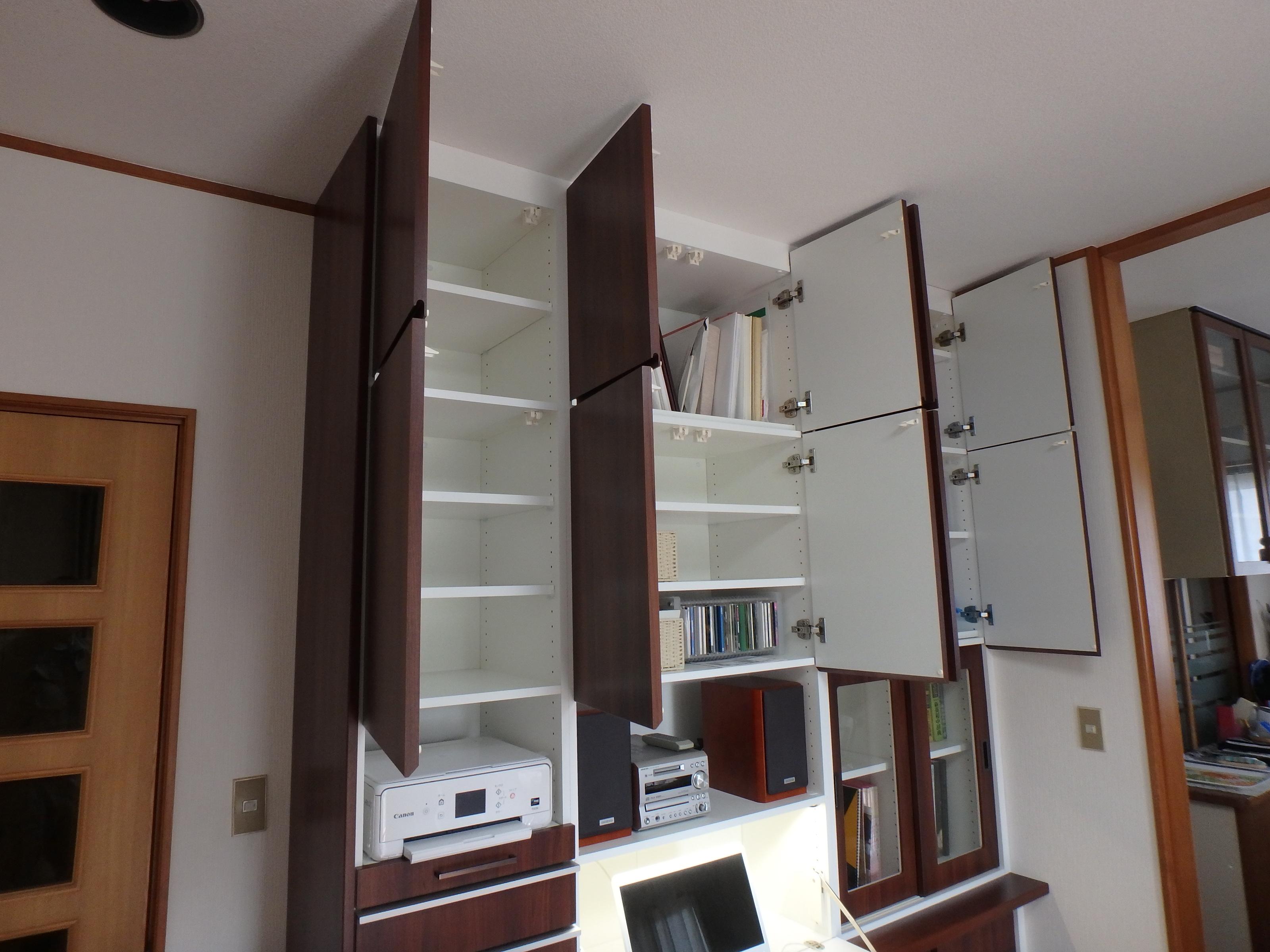 大容量のオーダー家具